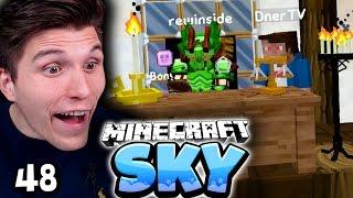 ANKLAGE WEGEN MORD! DIE VERRÜCKTE GERICHTSVERHANDLUNG! ✪ Minecraft Sky  #48 | Paluten