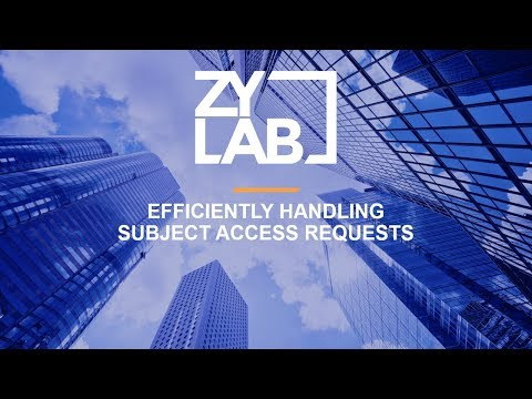 Webinar - Efficiently Handling Subject Access Requests