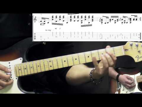 Jimi Hendrix - Are You Experienced - Rock Guitar Lesson (w/Tabs)