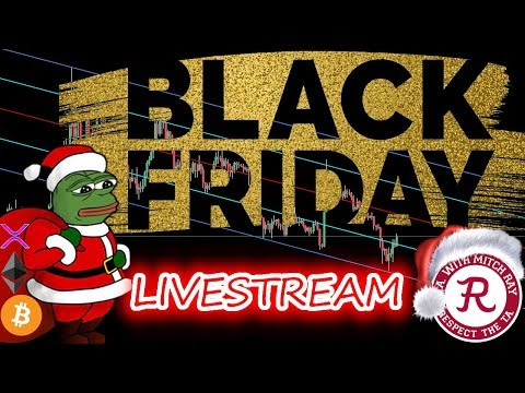 Bitcoin Live : BTC Black Friday Stream! Episode 774 - Crypto Technical Analysis