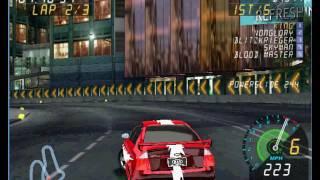 Final Drive Fury Super Fast Gameplay Lap 1 & 3