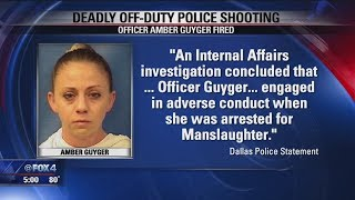 Dallas Police fires Officer Amber Guyger over Botham Jean shooting