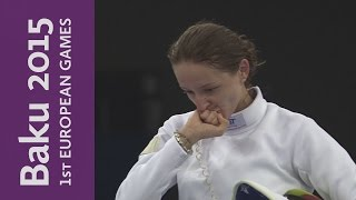 Women's Individual Epee Gold Medal Match    Fencing    Baku 2015