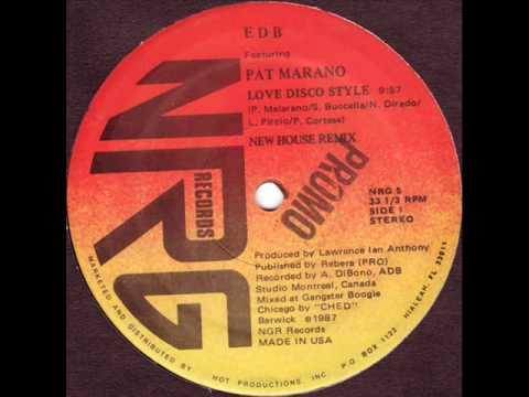 Pat Marano Love Disco Style