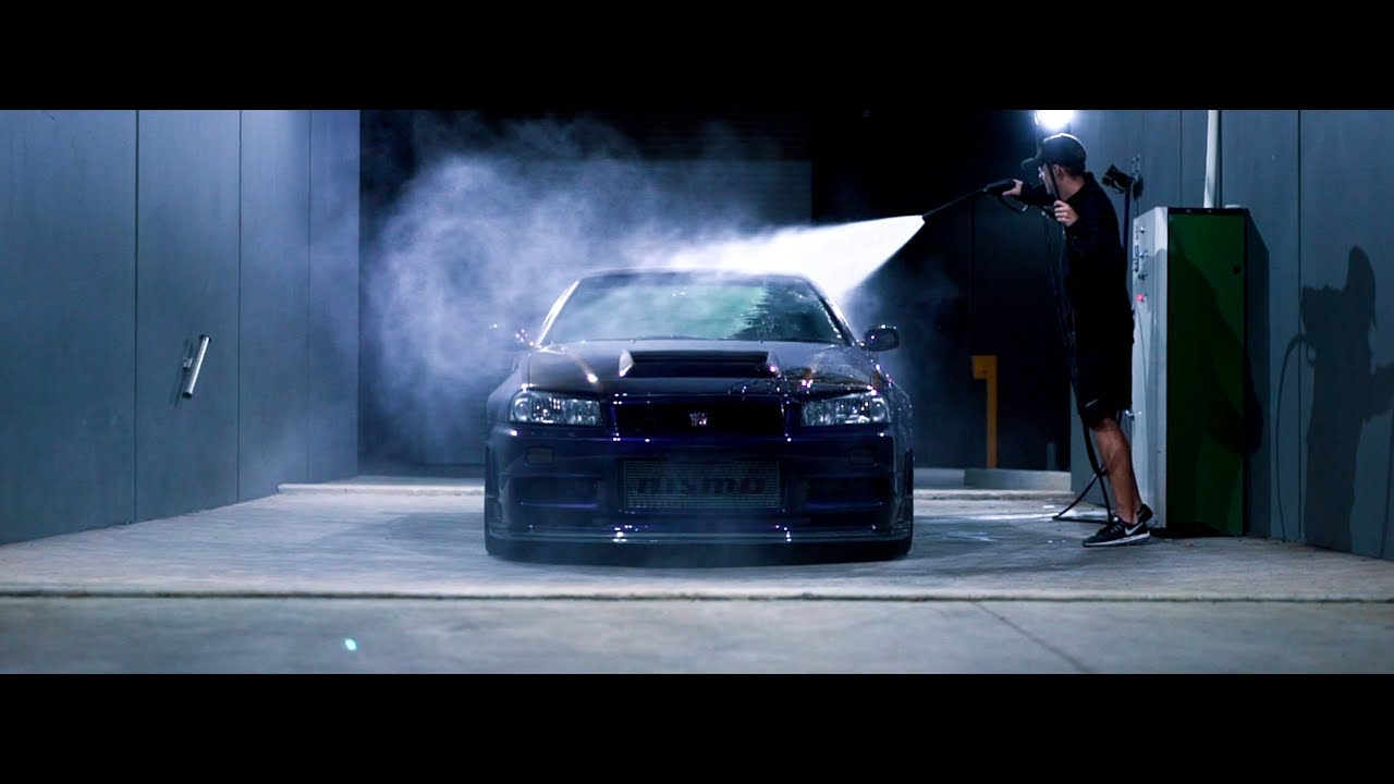 Detailing The Worlds Most Expensive R34 Gtr Midnight Purple Iii Z Tune 4k Youtube