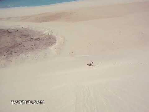 Sand-boarding - Socotra Island