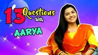 Top 13 Questions With Aarya Ambekar  Ti Saddhya Kay Karte  Marathi Movie 2017