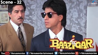 Shahrukh reveals the truth (Baazigar)