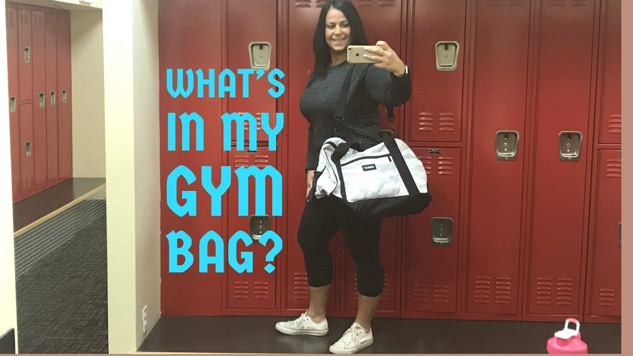 166f5792e485 MY NEW VOORAY GYM BAG AND WHAT I KEEP INSIDE OF IT - YouTube