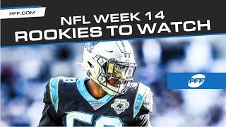 NFL Rookies to watch in Week 14  PFF