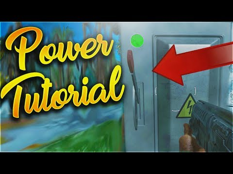 "Easy Power Tutorial and Switch Location! - ""Attack of the Radioactive Thing"" (IW Zombies)"