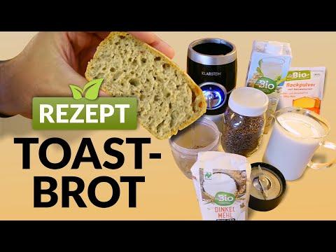 Toastbrot Rezept / Gesund, Vegan & Weizenfrei / Brot backen DIY