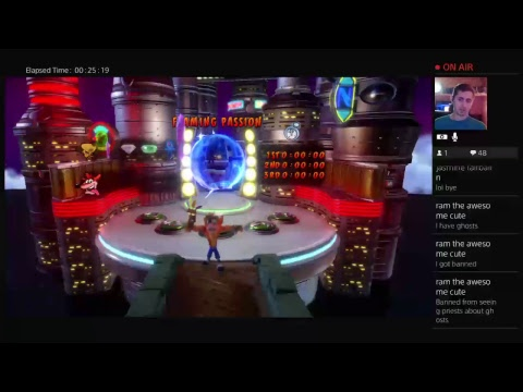 ropaul play's Crash bandicoot 3 pt 6: Cortex may fall again.