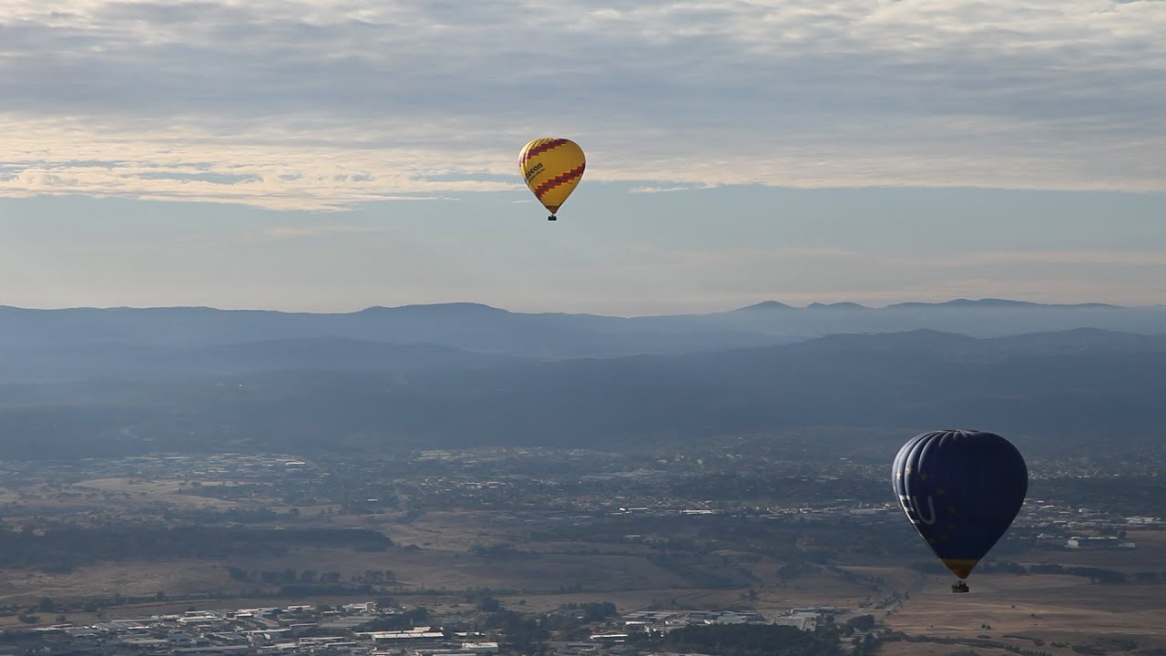 video Balloon Aloft Canberra