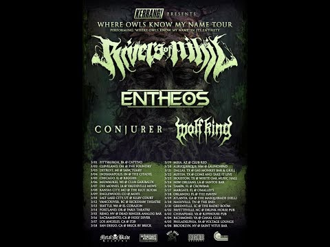 RIVERS OF NIHIL To Play album Where Owls Know My Name in full on 2019 Tour!
