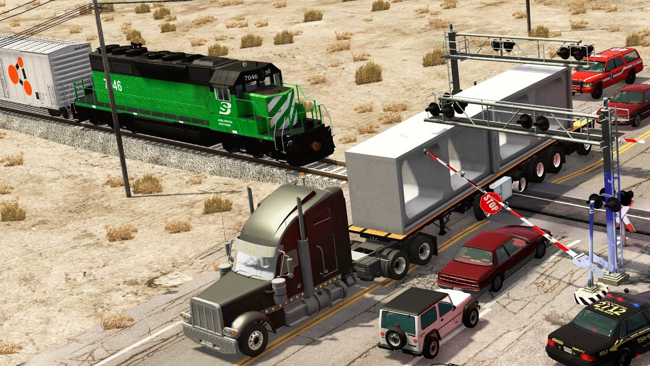 Download Train Accidents 17   BeamNG.drive