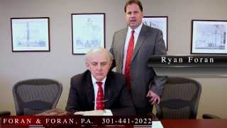 Introducing FORAN & FORAN, P.A. Greenbelt, Maryland Personal Injury Law Firm