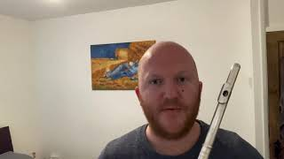 Fluting with Friends: Finger coordination - 4 note exercise - flute