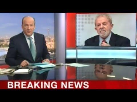 Former Brazilian President Lula Sent To Prison!
