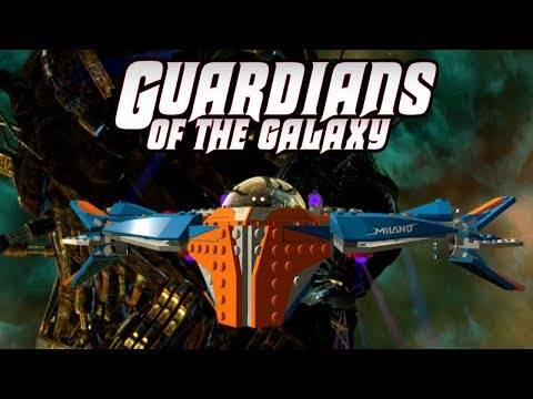 LEGO Marvel Super Heroes 2 Star Lord Flies the Milano in Free Roam Gameplay