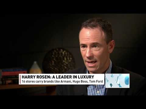 Chairman and CEO of Harry Rosen, Larry Rosen - The Exchange - Dec. 7