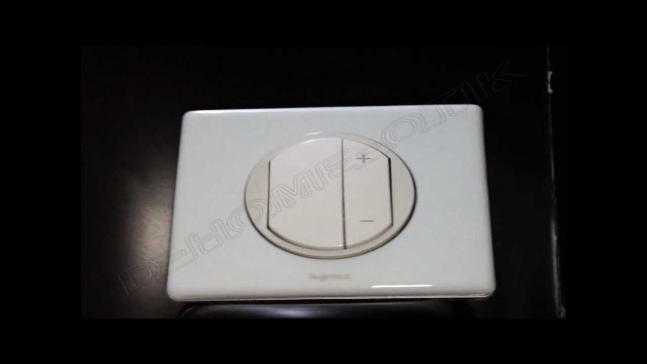 variateur 400 watts celiane enjoliveur blanc kit. Black Bedroom Furniture Sets. Home Design Ideas