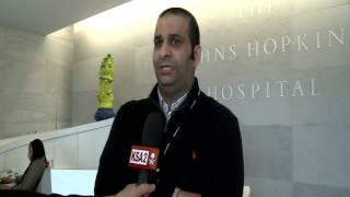 Saudi Doctors train to do Medical Research at JHU teaching hospital