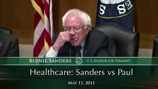 Gambar cover Bernie Sanders vs. Rand Paul on healthcare