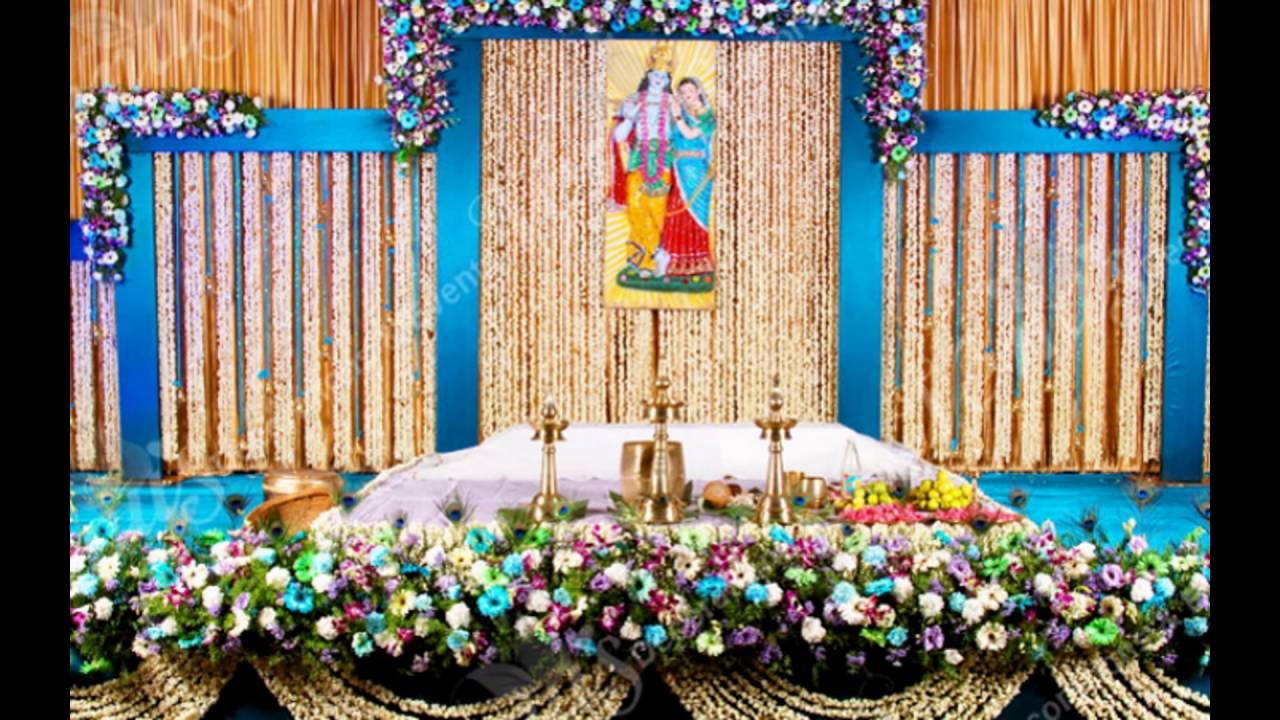 Madurai Decorators New Season Wedding Stage Decoration Youtube
