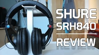Shure SRH840 - Studio Headphone Review - The True Rival