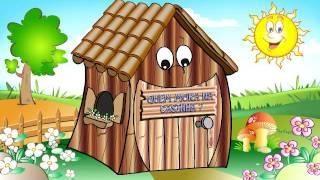 QUEM MORA NA CASINHA? | Vídeo Infantil | Desenho para Crianças thumbnail