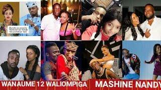 WANAUME 12 WALIOTEMBEA NA NANDY HAWA APA/WASANII( MASTAA) WALIOMPIGA MASHINE ZAID NANDY HAWA APA