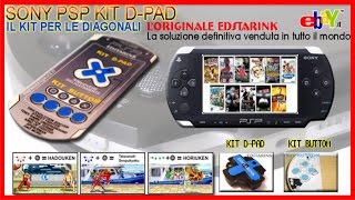 Sony PSP KIT D-PAD and buttom FIX