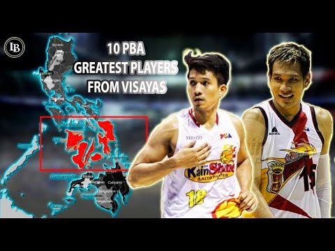 10 Greatest PBA Players from Visayas