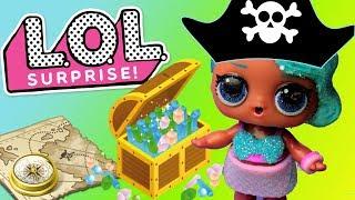LOL Surprise • Przygoda na wyspie piratów • bajka po polsku