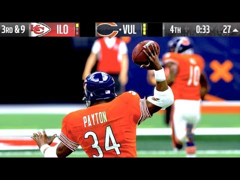 Walter Payton GAME WINNING PASS?! Madden 19 Ultimate Team Gameplay
