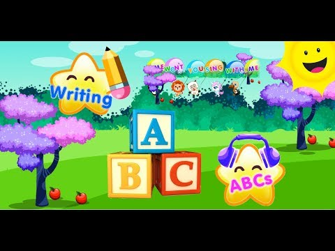 Learn ABCs, Animals and Plants. ABCs Song for Kids. Alphabet Song