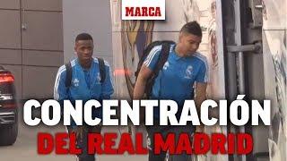 Concentración del Real Madrid antes de duelo copero frente al Barcelona