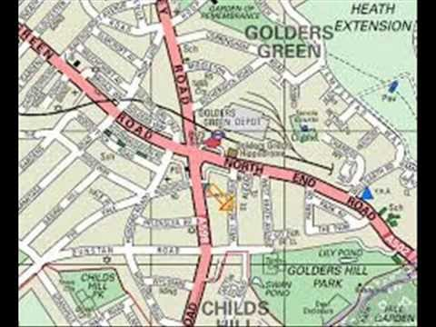 London Map - Views Of The London Map