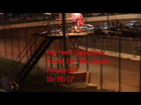 Hartwell Speedway PFC Forwards Feature Race 10/15/17