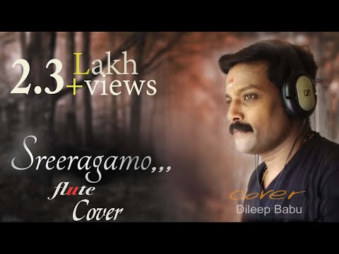Sreeragamo - Pavithram[Flute cover] By Dileep Babu .B