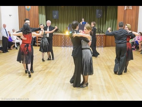 'Santa Maria' Tango And Cha-Cha Show By Inspiration 2 Dance Pro-am Formation Team