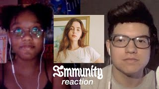 crack reacts episode four - immunity by clairo reaction
