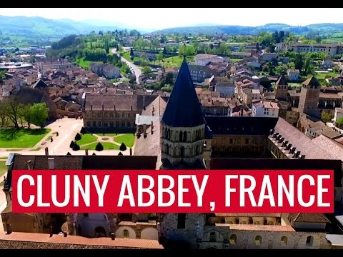 L'abbaye de Cluny - Cluny Abbey  - FRANCE Lyon - Drone Video - Gadz'arts