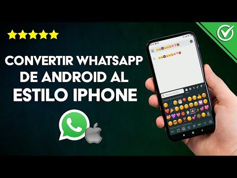 Cómo Convertir mi WhatsApp de Android al Estilo iPhone Cambiando los Emojis ¡Muy Fácil!