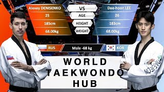 World Taekwondo Hub Analysis - Daehoon Lee KOR VS Alexey Denisenko RUS WT Grand Slam Final