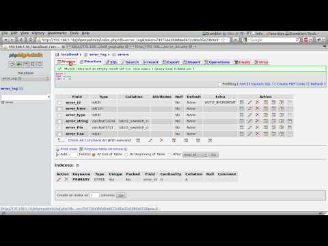 PHP Tutorial: Error Logging [part 00]