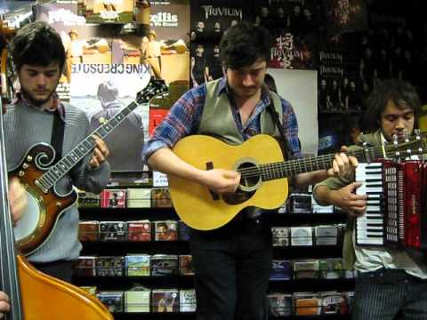 Mumford And Sons - Awake My Soul - Rare Live Acoustic