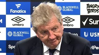 Everton 2-0 Crystal Palace - Roy Hodgson Full Post Match Press Conference - Premier League
