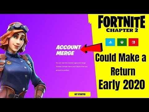 Fortnite Account Merging Chapter 2 (Merge Accounts Coming Back)